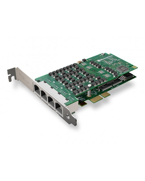Octal Span T1 PCIe Card with Echo Cancellation