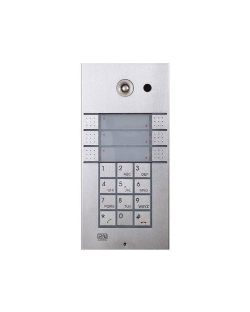 2N Helios 6 Direct Call IP Door Phone with Keypad and Video