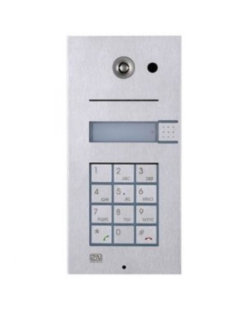 2N Helios IP Door Phone Single Button with Keypad