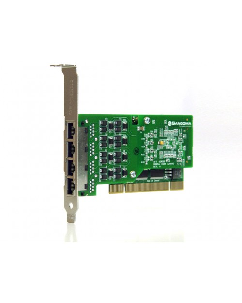 Quad Span T1 PCI Card with Echo Cancellation