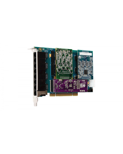 Digium Eight Port Hybrid PCI 3.3/5.0V card
