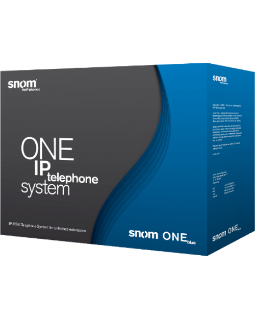 Snom One Blue IP Telephone System