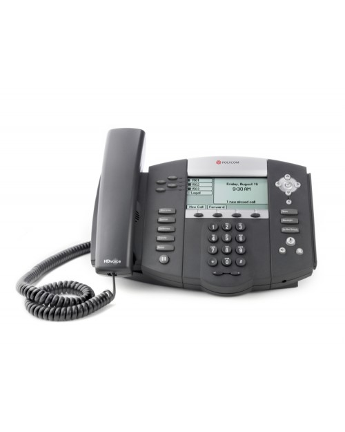 how to get ip address for polycom soundpoint ip