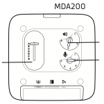 EHS setup Diagram for MDA500
