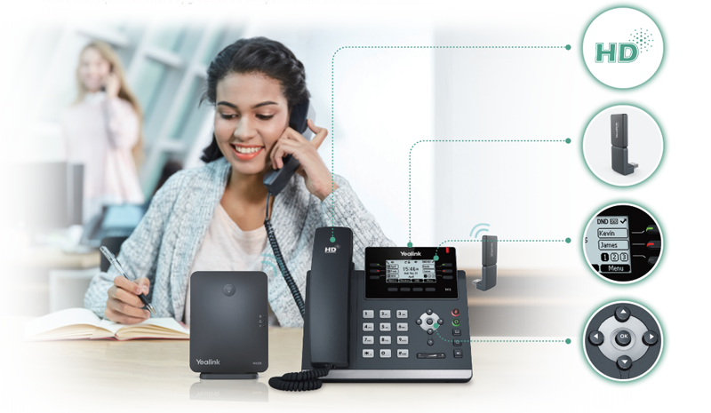 Yealink DECT desk phone
