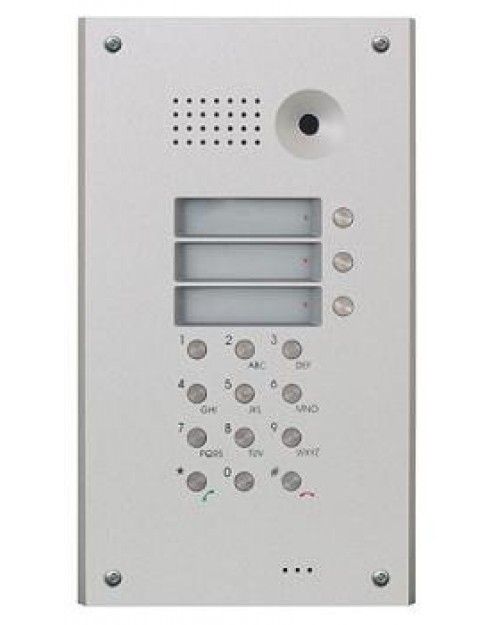 2N Helios Antivandal 3 Button Extender Mask with Keypad