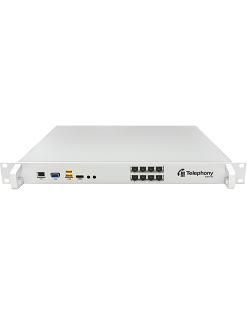 Askozia Telephony Server + 8x ISDN BRI