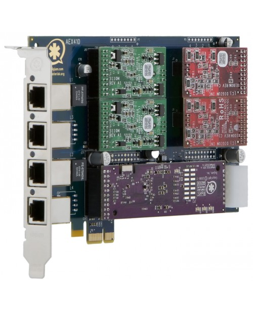 Digium AEX410P Base Board