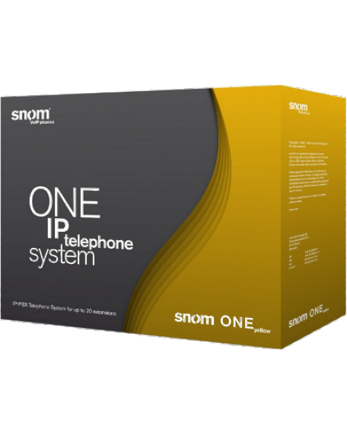 Snom One Yellow IP Telephone System
