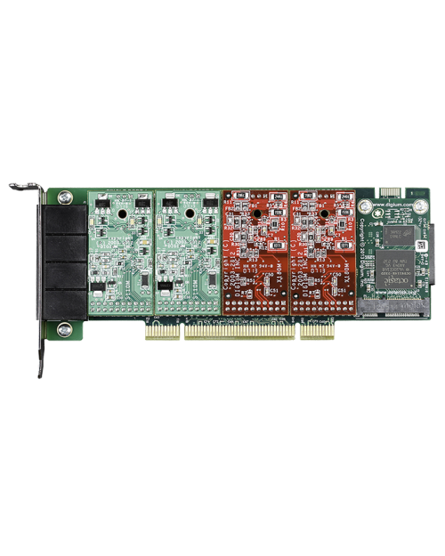 Digium A4 - Modular 4 Port Analog Card