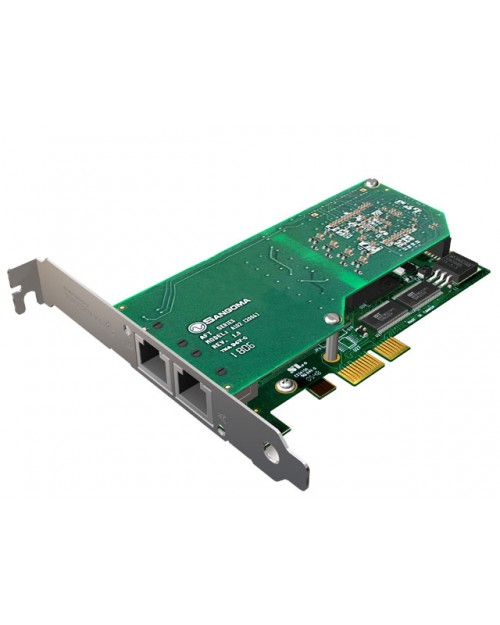 Dual T1 PCI Card with Echo Cancellation